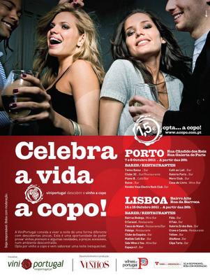 Festa do Vinho a Copo 2011 (Porto e Lisboa)