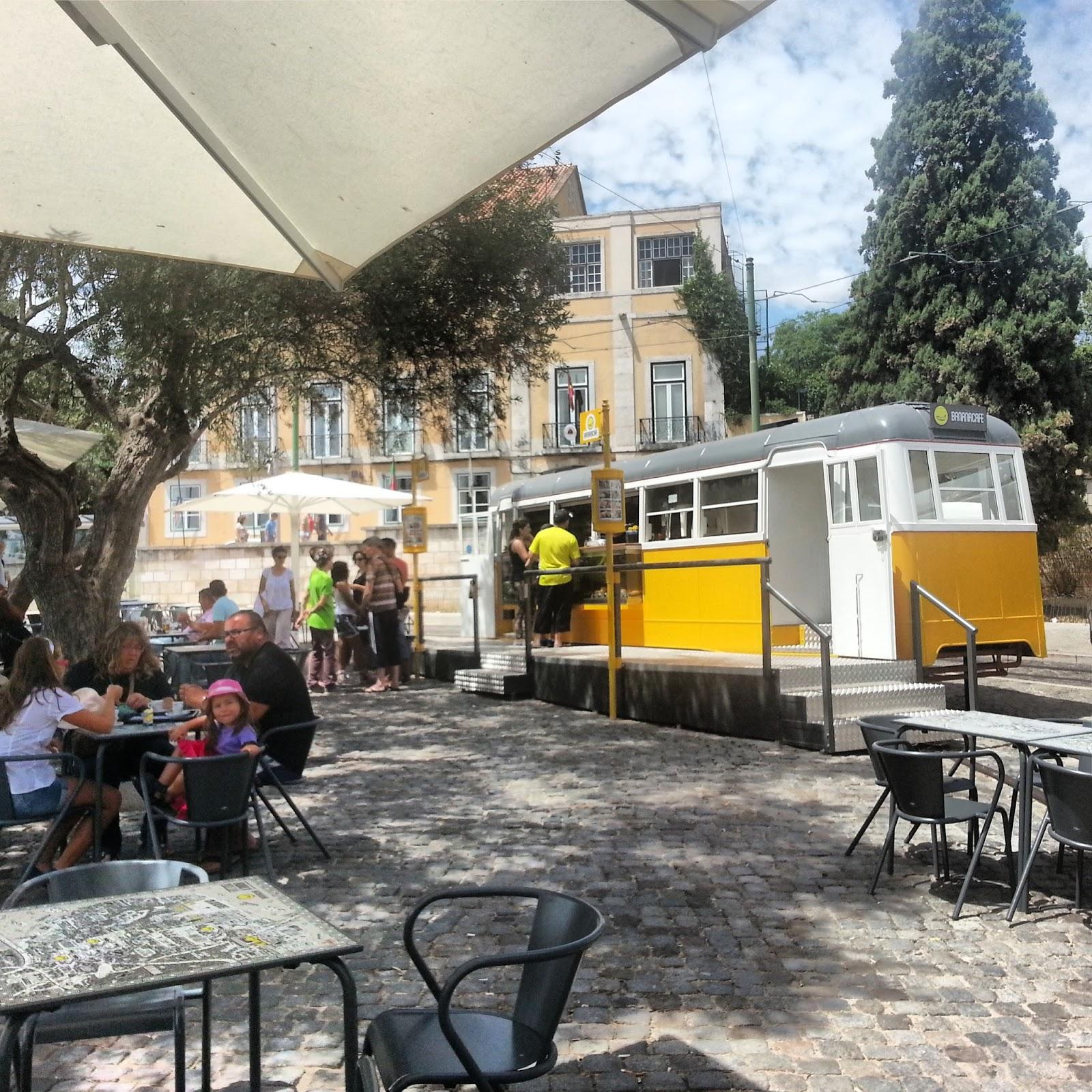 Banana Café – Um Eléctrico (173) Chamado Desejo (Lisboa)