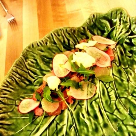 Leopold - Bife dos Açores com Legumes