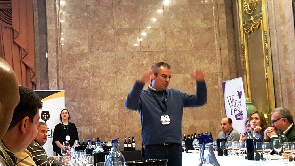Ricardo Diogo dos Vinhos Barbeito.