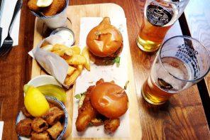 Comer em Londres