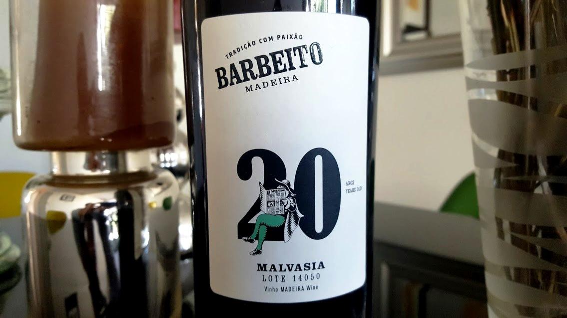 Barbeito Malvasia 20 Anos