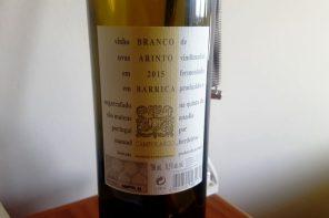 Campolargo Arinto Barrica 2015