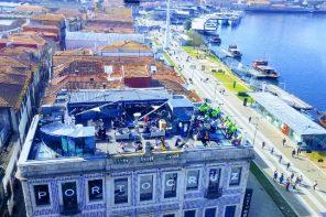 O terraço da Porto Cruz…